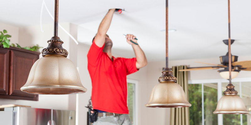 call a professional for lighting repair
